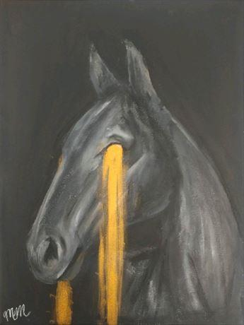 All High Art Exhibit Horse Painting