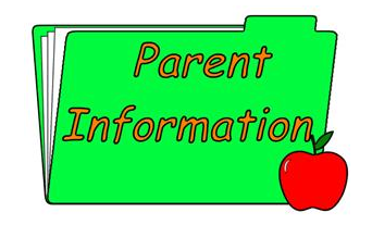 Parent Information for Start of School