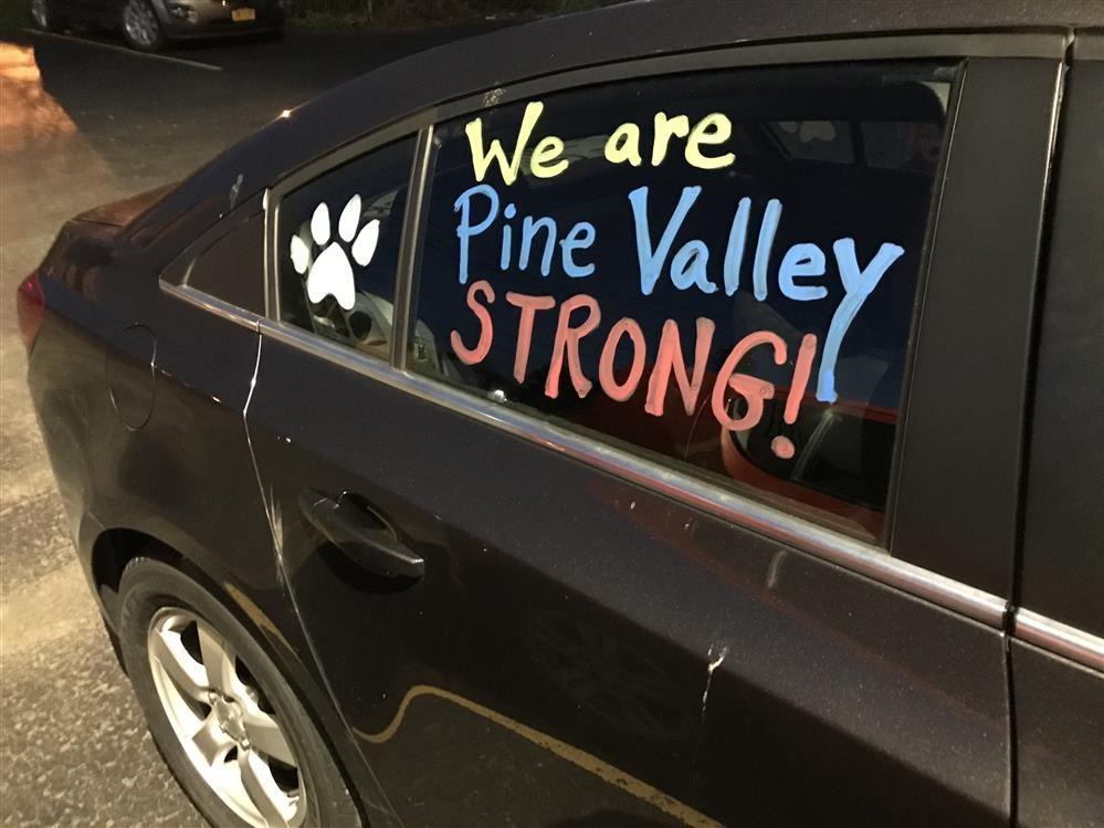 Pine Valley Proud Car