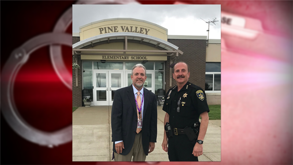 Sheriff Joseph A. Gerace announced Tuesday that the Chautauqua County Sheriff's Office has established a substation at the Pine Valley Central School.