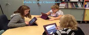 iPads in Mrs. Olson's 5th Grade